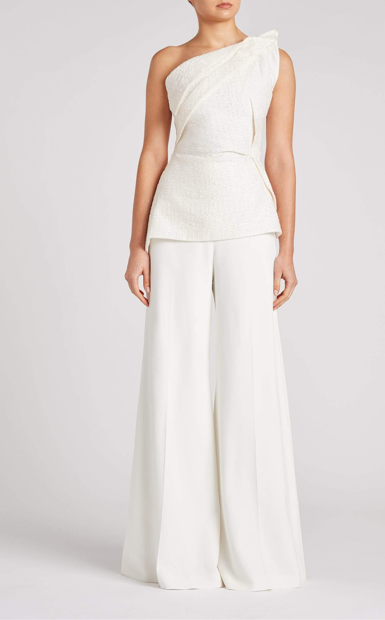 Braxton Top In White from Roland Mouret