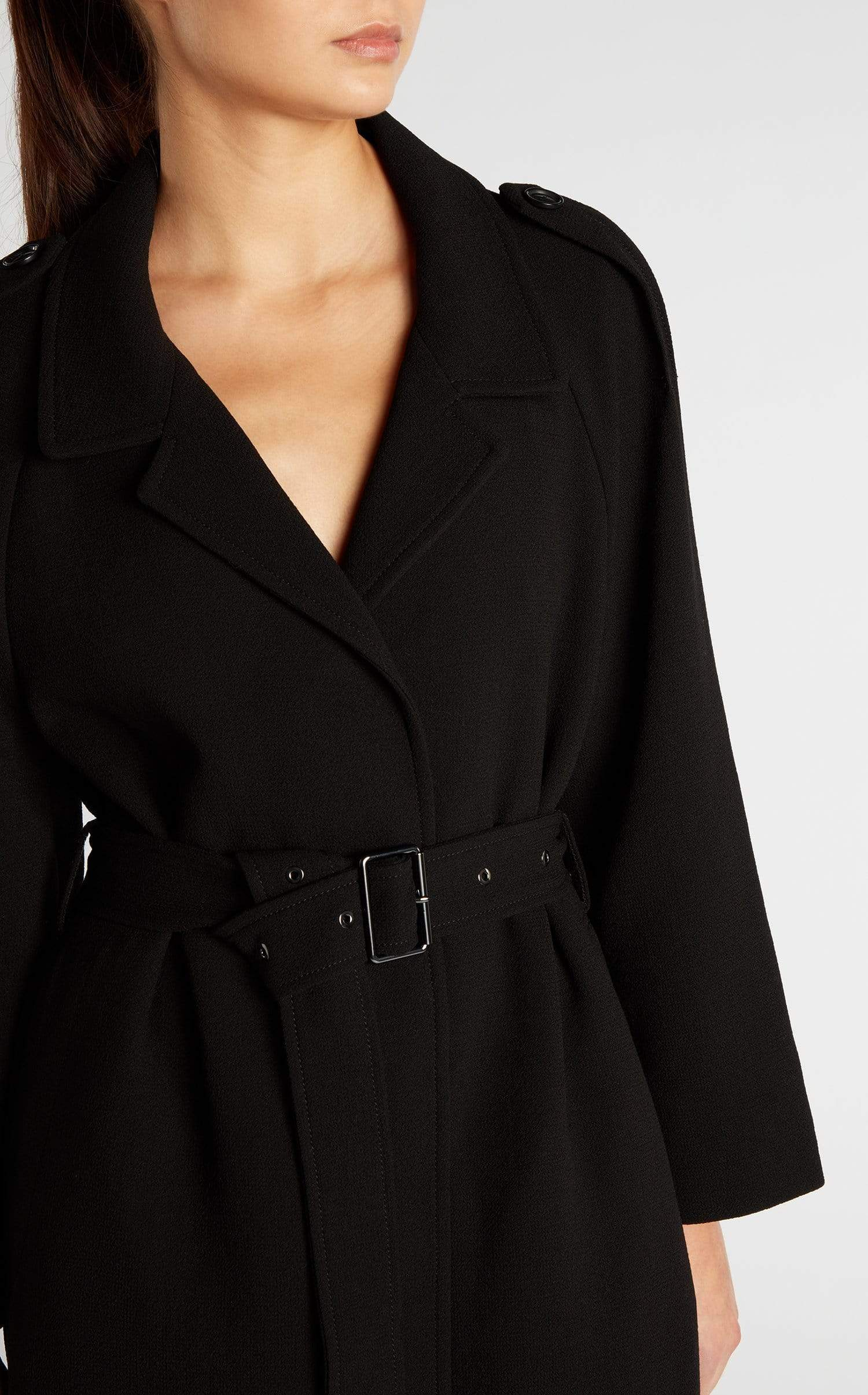 Victor Coat In Black from Roland Mouret