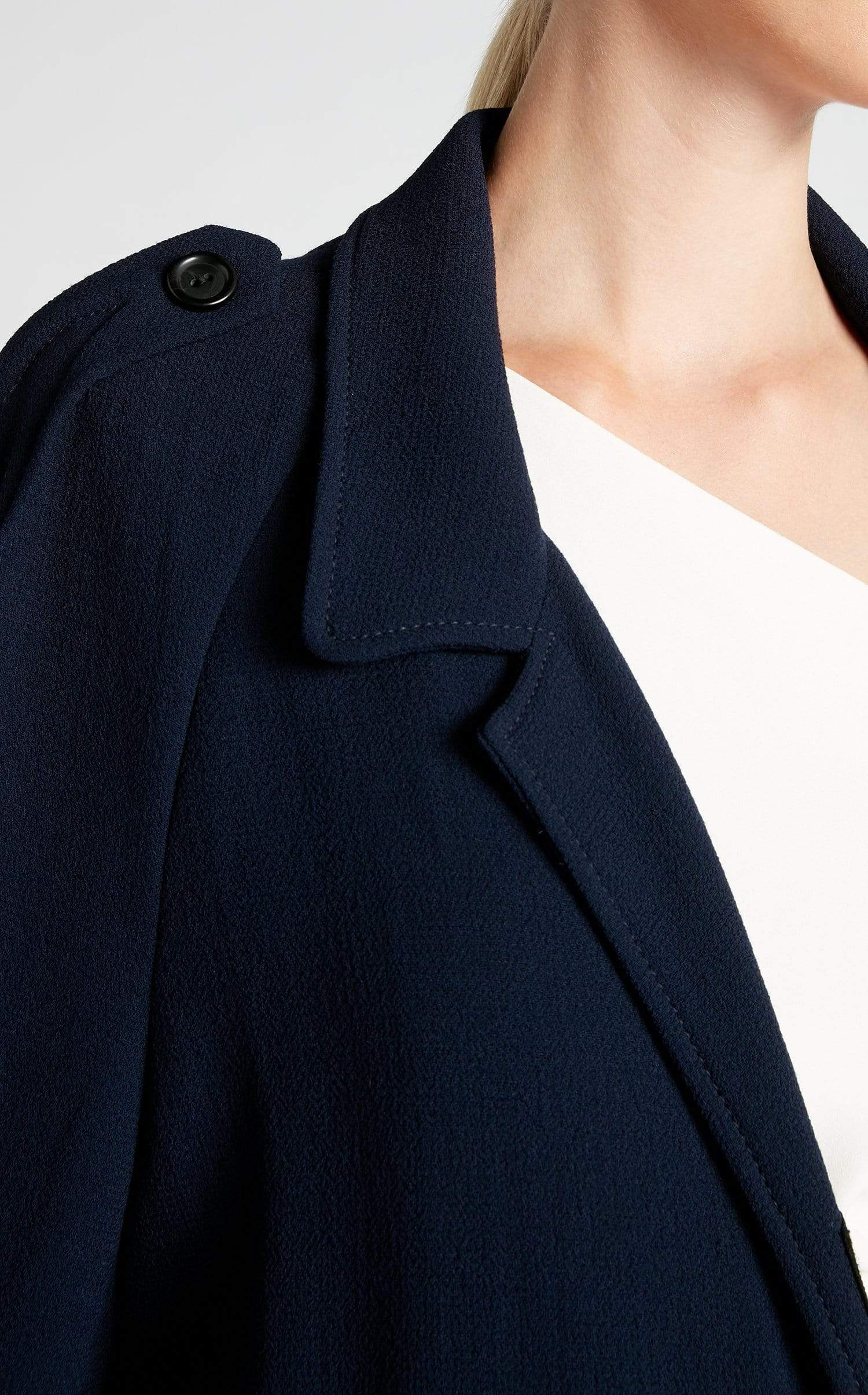 Victor Coat In Navy from Roland Mouret