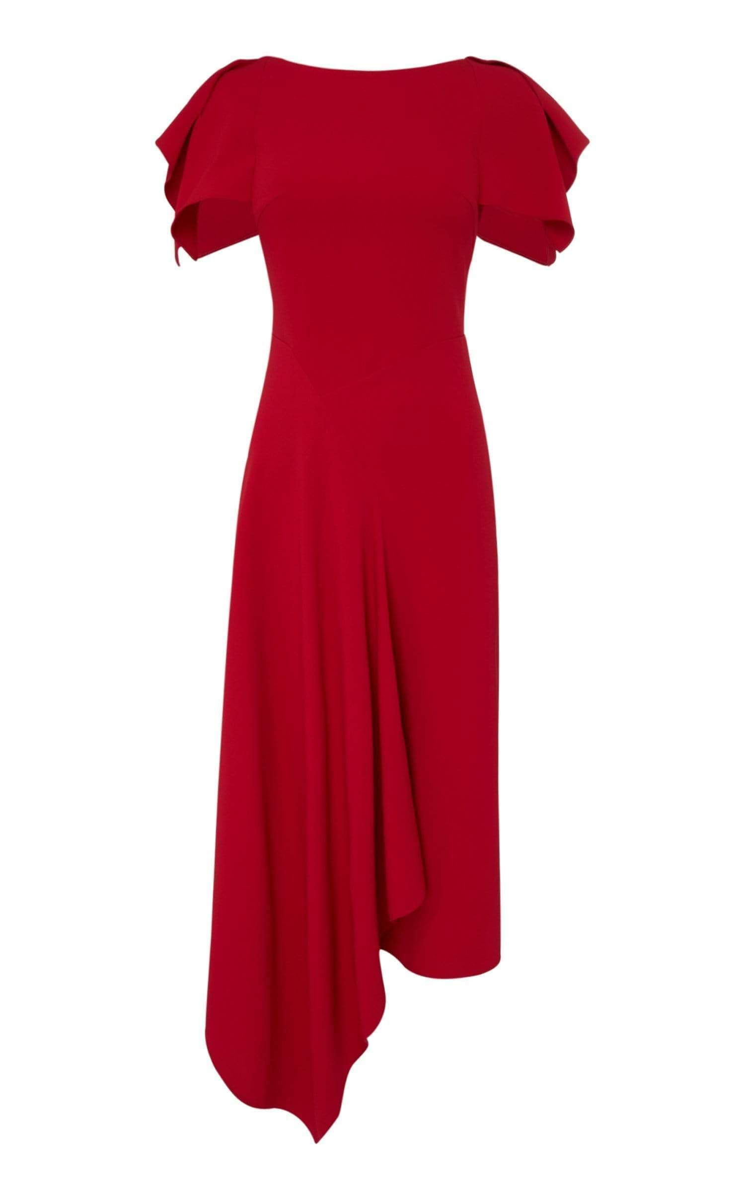 Warren Dress In Persian Red from Roland Mouret