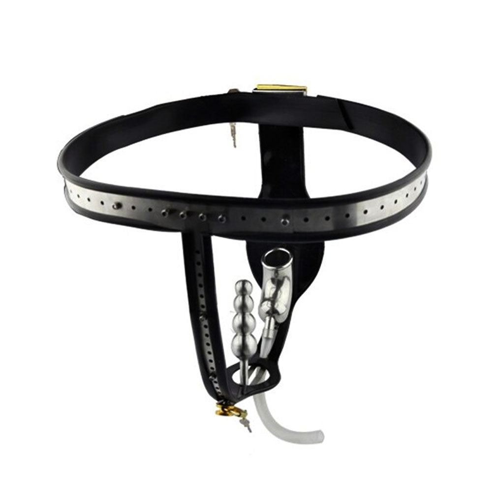 Locked and Loaded Male Chastity Belt 35.43 inches to 43.31 inches waistline