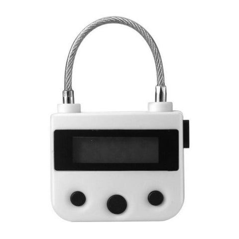 Rechargeable Electronic Timer Lock
