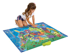 Learn & Climb Electronic Kids Map of the United States - 500 Facts and  Quizzes About 50 USA States More Educational than Flash Cards and Map  Puzzle ...