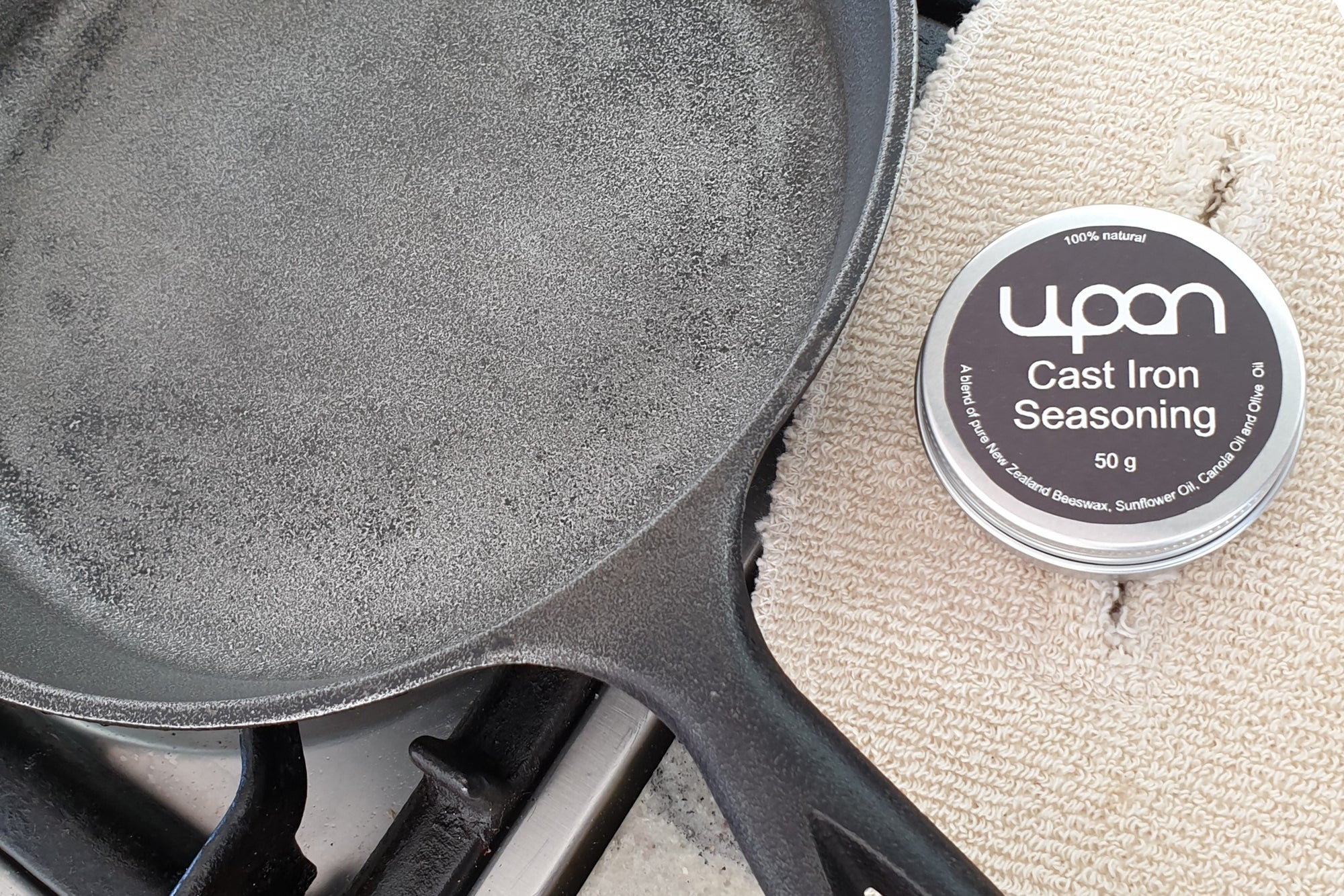 How to season your cast iron cookware