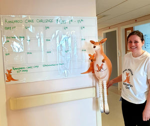 Royal Alexandra Hospital, in Paisley, Scotland Celebrates Kangaroo Care Day!