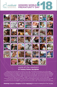 NIDCAP celebrates World Prematurity Day 2018 with a beautiful poster