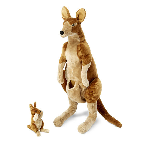 Kangaroo and Joey - Plush Toy - 34 inches tall