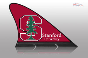 Stanford University  Car Flag, CARFIN  Magnetic Car Flag.