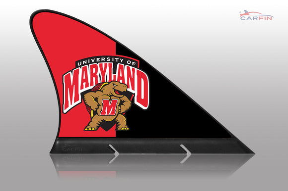 Maryland Terrapins Car Flag, CARFIN  Magnetic Car Flag. - Carfin