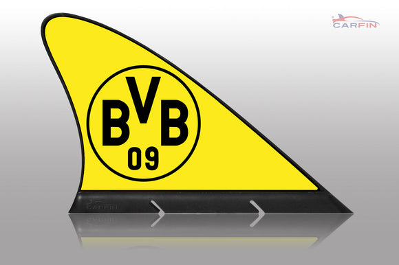 Borussia Dortmund Car Flag, CARFIN  Magnetic Car Flag.