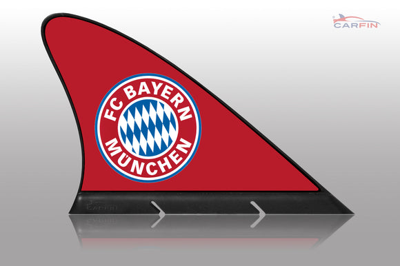 FC Bayern München Car Flag, CARFIN  Magnetic Car Flag.