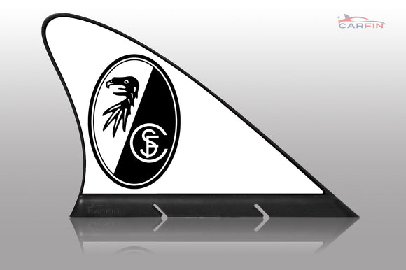 SC Freiburg Car Flag, CARFIN  Magnetic Car Flag.