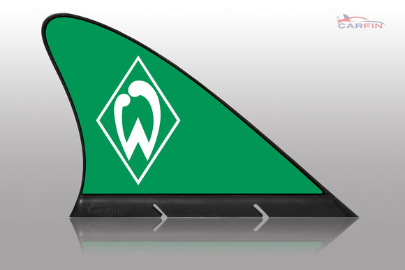 SV Werder Bremen Car Flag, CARFIN  Magnetic Car Flag.