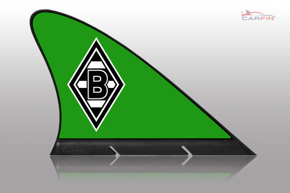 Borussia Mönchengladbach Car Flag, CARFIN  Magnetic Car Flag.