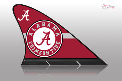 Alabama Crimson Tide Car Flag, CARFIN  Magnetic Car Flag.