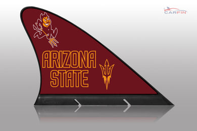 Arizona State Sun Devils Car Flag, CARFIN  Magnetic Car Flag.