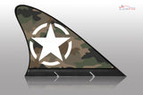 US Army Car Flag, CARFIN  Magnetic Car Flag. - Carfin