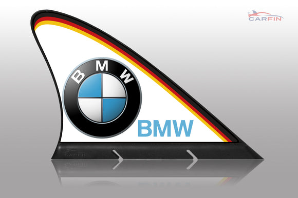BMW Car Flag CARFIN , Magnetic Car signs. - Carfin
