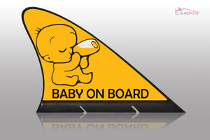 Baby on Board Car Signs and Car Magnetic Flags - Carfin