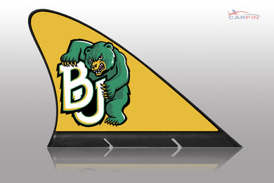 Baylor Bears Car Flag, CARFIN  Magnetic Car Flag.