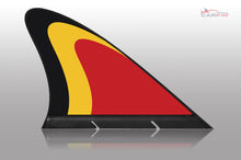 Belgium Car Flag CARFIN , Magnetic Car flags and signs. - Carfin
