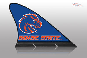 Boise State Broncos Car Flag, CARFIN  Magnetic Car Flag.