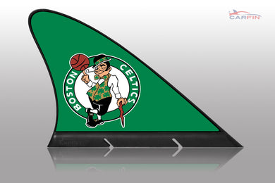 Boston Celtics Car Flag, CARFIN  Magnetic Car Flag.