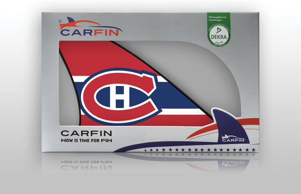 Montreal Canadiens Car Flag, CARFIN  Magnetic Car Flag. - Carfin