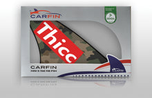 Thicc Car Flag CARFIN , Magnetic Car signs. - Carfin