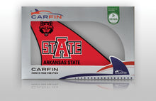 Arkansas Razorbacks Car Flag, CARFIN  Magnetic Car Flag. - Carfin