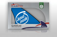 Jesus Inside Car Flag CARFIN , Magnetic Car signs. - Carfin