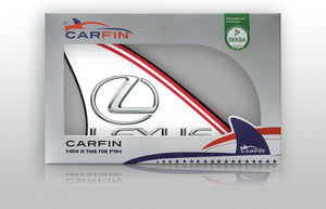 Lexus Car Flag CARFIN , Magnetic Car signs.