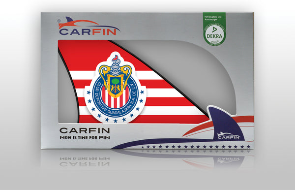 Chivas USA Car Flag, CARFIN  Magnetic Car Flag. - Carfin