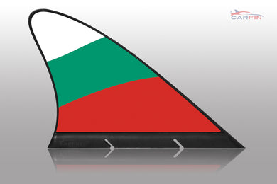 Bulgaria Car Flag CARFIN , Magnetic Car flags and Signs.