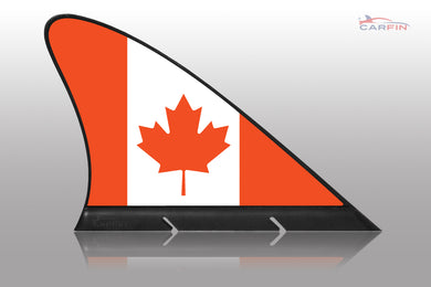 Canada Car Flag CARFIN , Magnetic Car flags and signs. - Carfin