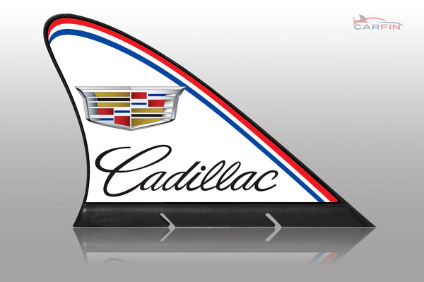 Cadilac Car Flag CARFIN , Magnetic Car signs. - Carfin