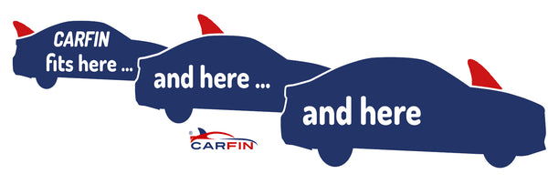 Surfing  Car Flag CARFIN , Magnetic Car signs.