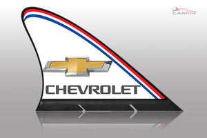 Chevrolet Car Flag CARFIN , Magnetic Car signs. - Carfin