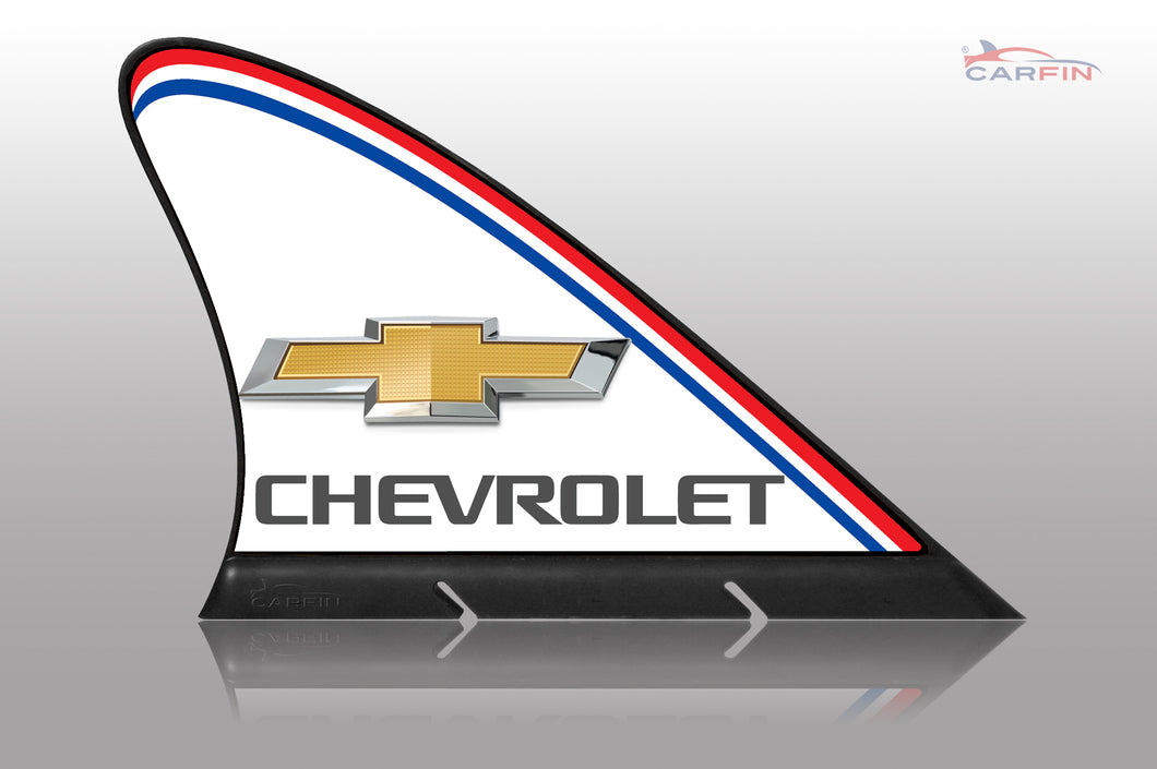 Chevrolet Car Flag CARFIN , Magnetic Car signs.