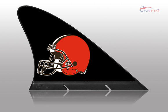 Cleveland Browns Car Flag, CARFIN  Magnetic Car Flag.