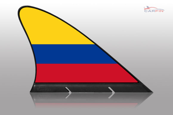 Colombia Car Flag CARFIN , Magnetic Car flags and signs. - Carfin