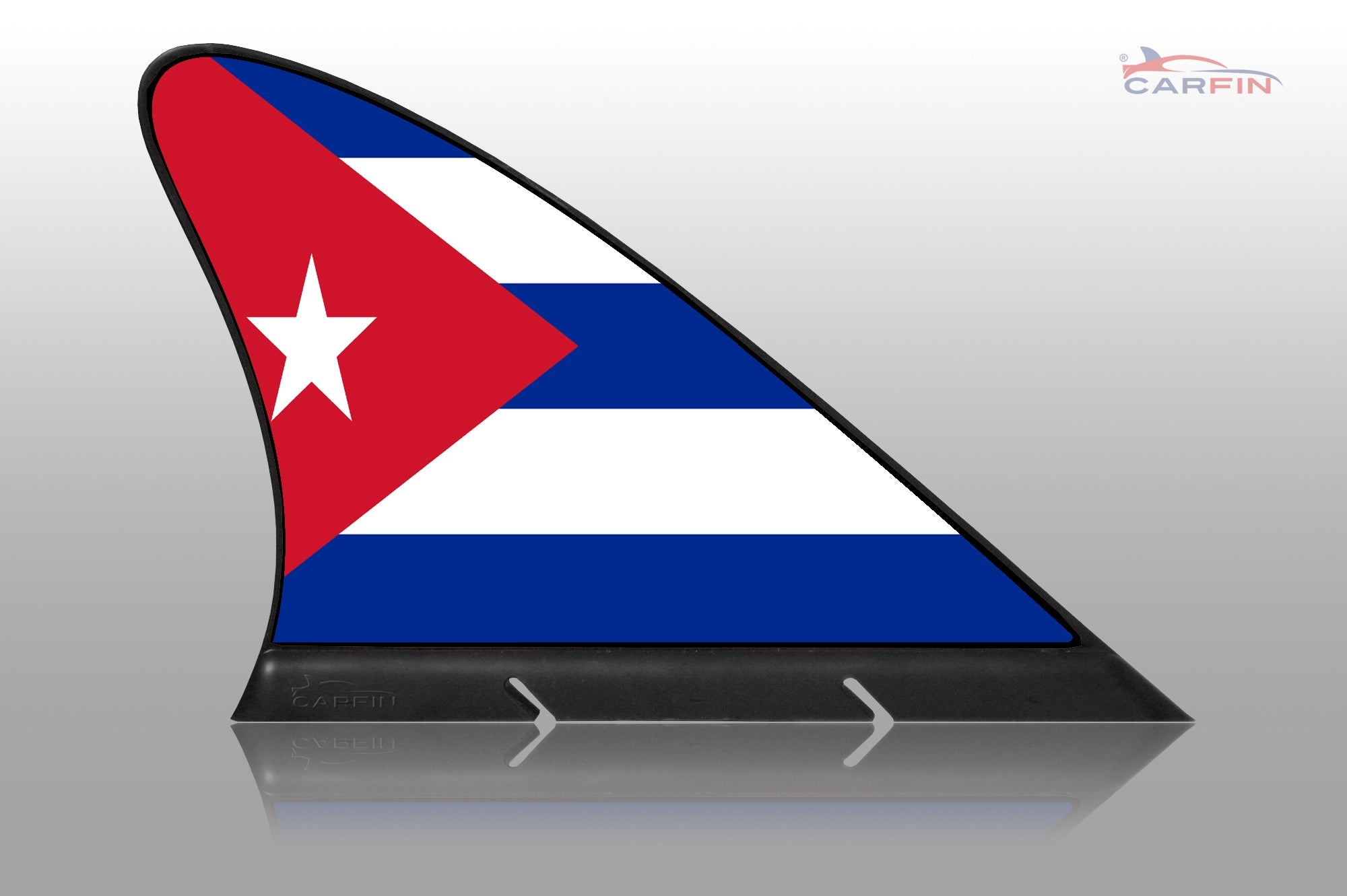 Cuba Car Flag CARFIN , Magnetic Car flags and signs.