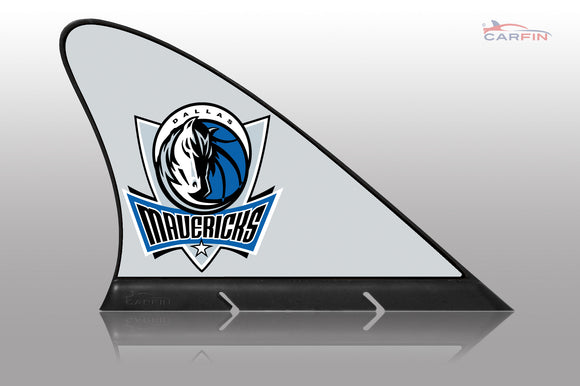Dallas Mavericks Car Flag, CARFIN  Magnetic Car Flag. - Carfin