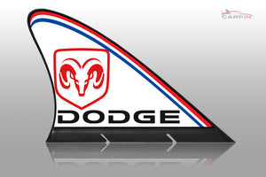 Dodge Car Flag CARFIN , Magnetic Car signs.