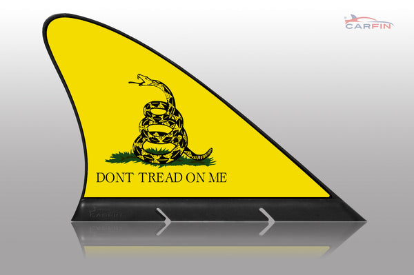 Dont tread on me Car Flag CARFIN , Magnetic Car signs. - Carfin