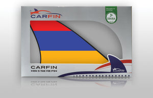 Armenia Car Flag CARFIN , Magnetic Car flags and signs. - Carfin