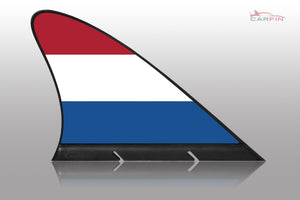 Holland Car Flag CARFIN , Magnetic Car flags and signs. - Carfin