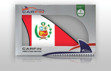 Peru Car Flag CARFIN , Magnetic Car flags and signs. - Carfin