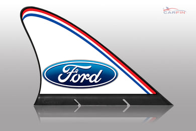 Ford  Car Flag CARFIN , Magnetic Car signs.