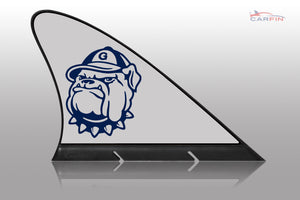 Georgetown University Car Flag, CARFIN  Magnetic Car Flag.